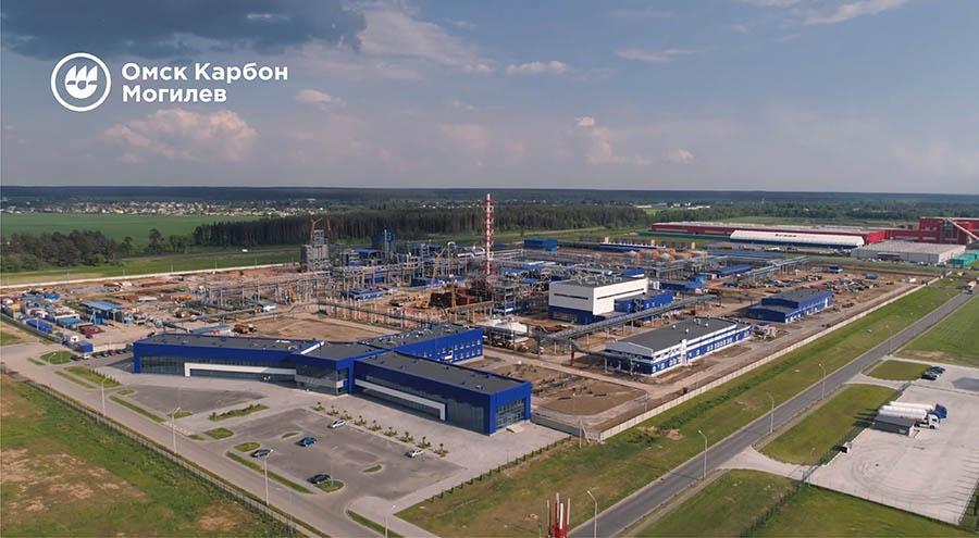 Готовность завода «Омск Карбон Могилев» к пуску составляет 76 процентов