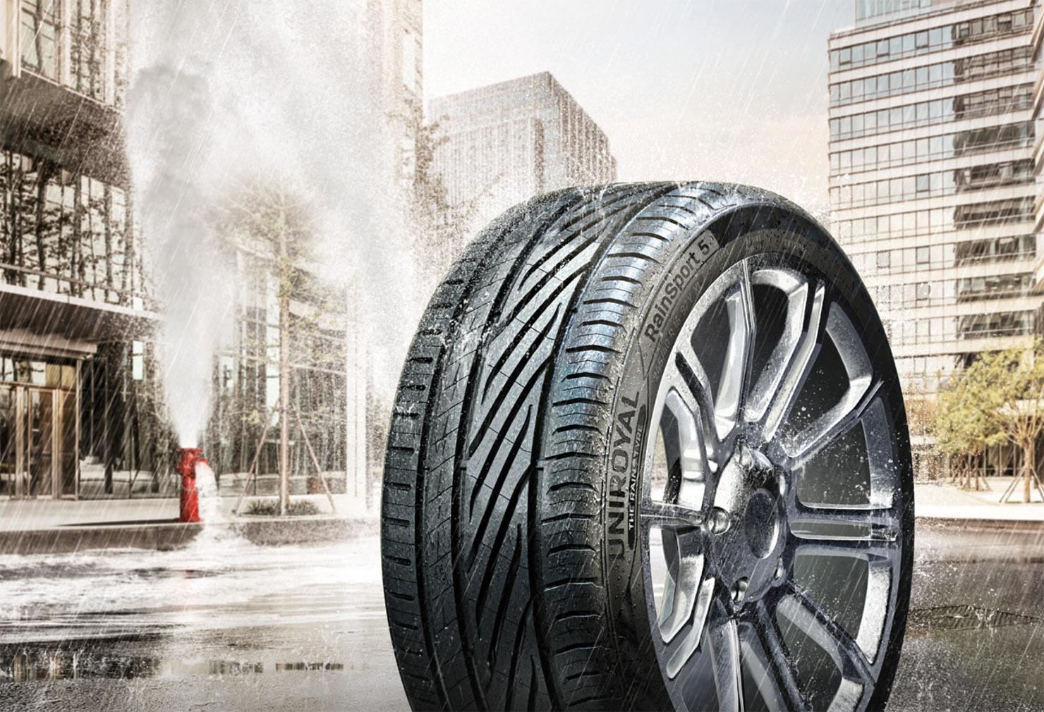 Continental представил новые дождевые шины Uniroyal RainSport 5 для следующего лета