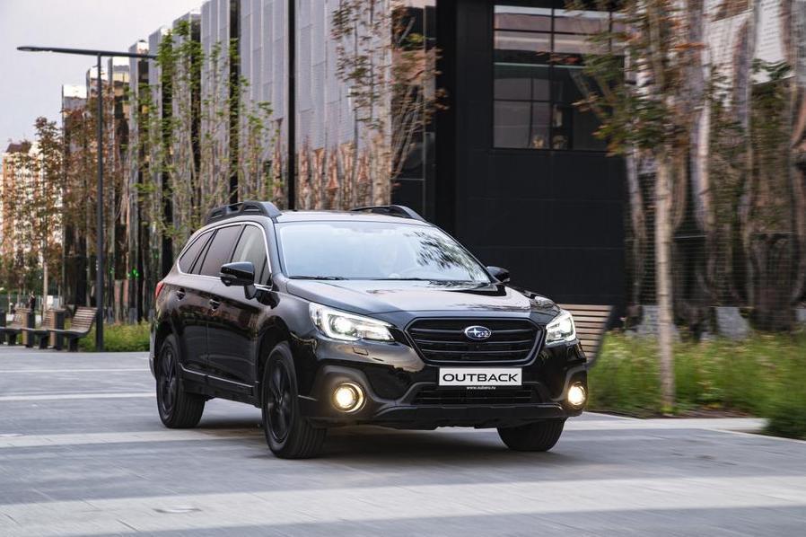 Subaru предлагает россиянам Outback в черной спецсерии