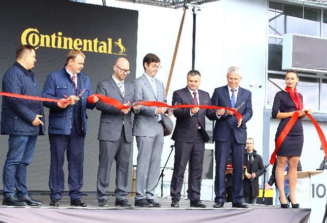 Continental открыл свой первый грузовой шинный центр в России