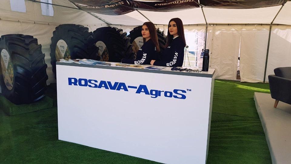 Агрошины Rosava-AgroS на выставке Agro Show 2019 в Польше
