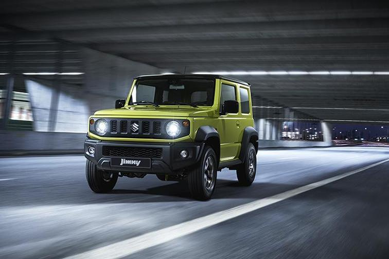 Стали известны планы Suzuki Jimny на российский рынок