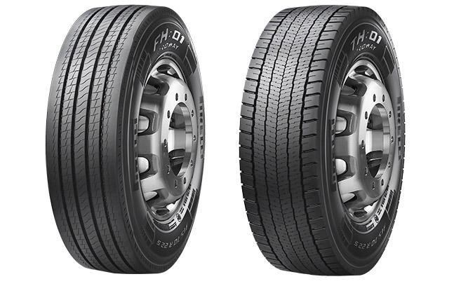 Prometeon представила новые топливосберегающие TBR-шины Pirelli H:01 Proway
