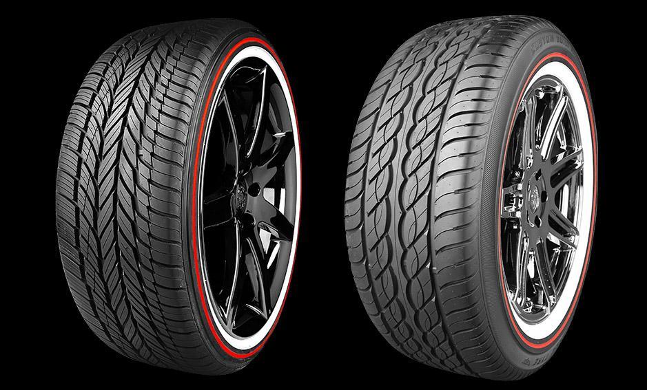 Vogue Tyre представила юбилейную серию шин с красными лампасами