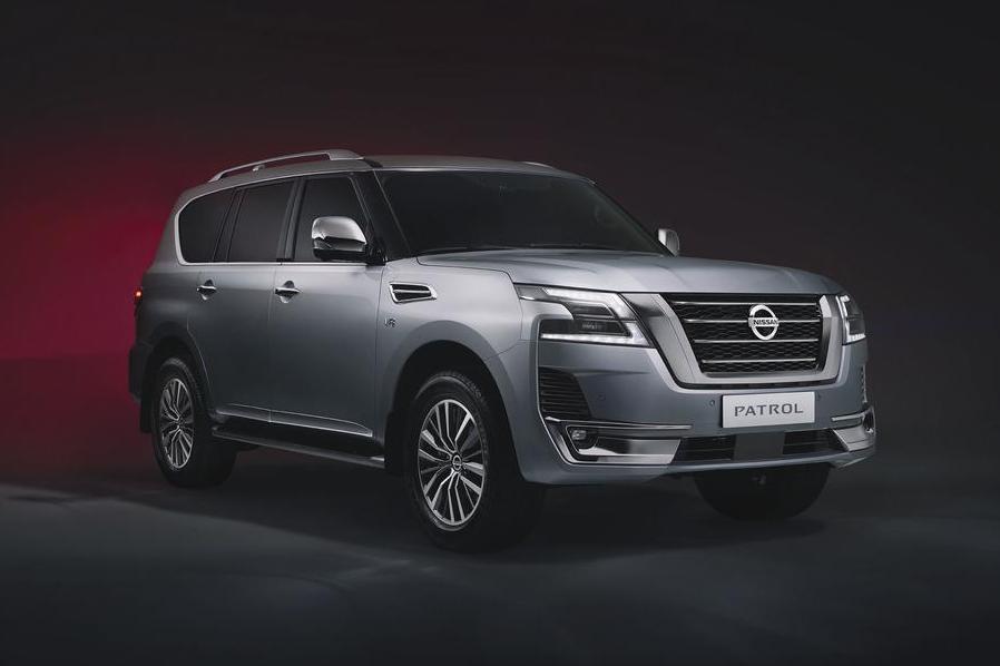 Nissan показал обновленный Patrol