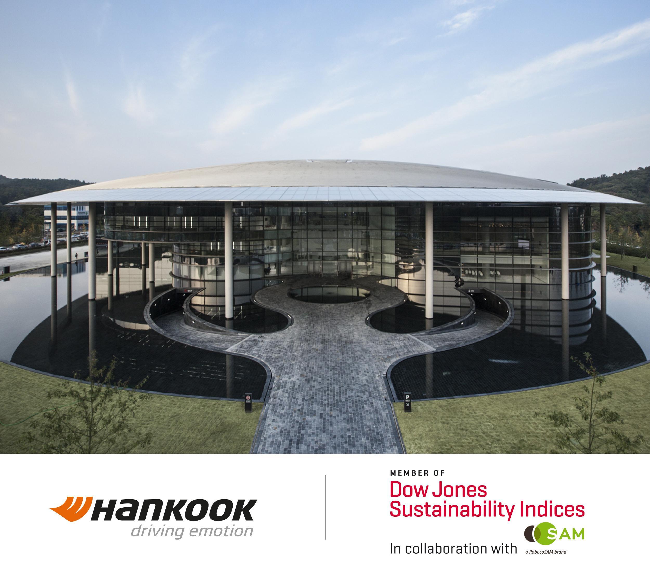 Hankook Tire снова в списке наиболее экологичных производителей по версии DJSI World
