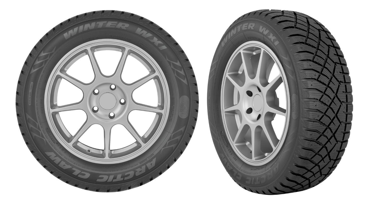 Под брендом Arctic Claw вышли новые шипуемые шины для пассажирских автомобилей