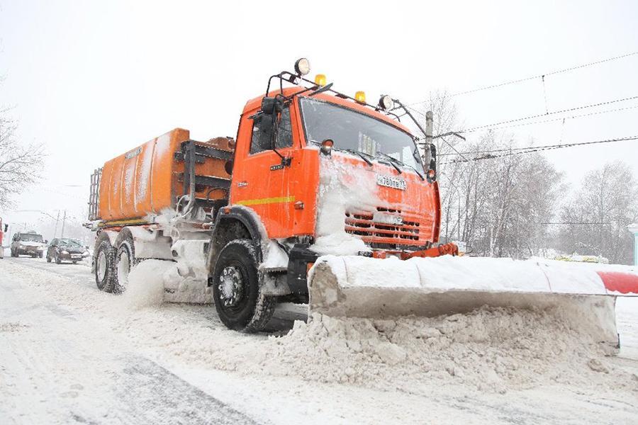 Предложен инновационный способ уборки снега с дорог