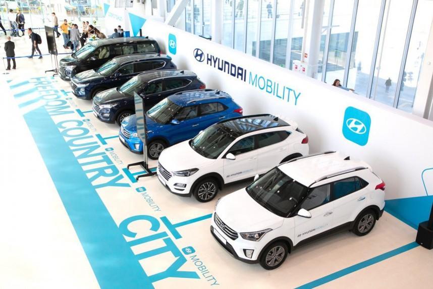 Hyundai объявляет стоимость автомобилей по подписке