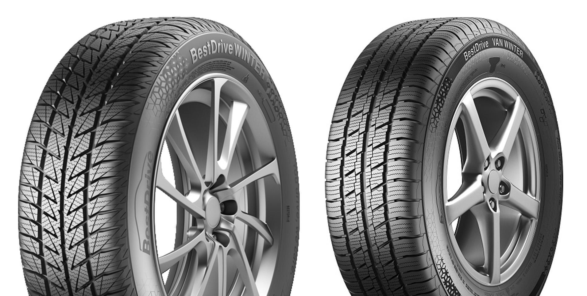 Новый европейский бренд BestDrive запускает зимнюю линейку пассажирских шин