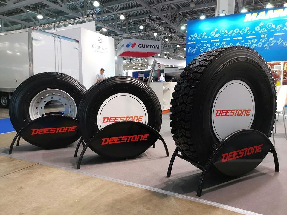 Bohnenkamp привезет на выставку в Алматы шины брендов Deestone, BKT и Kenda