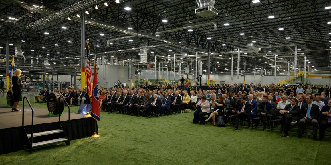 Nokian Tyres открыла свой новый завод в США
