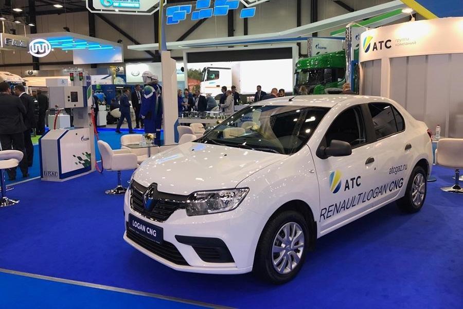 В серию может пойти метановый Renault Logan