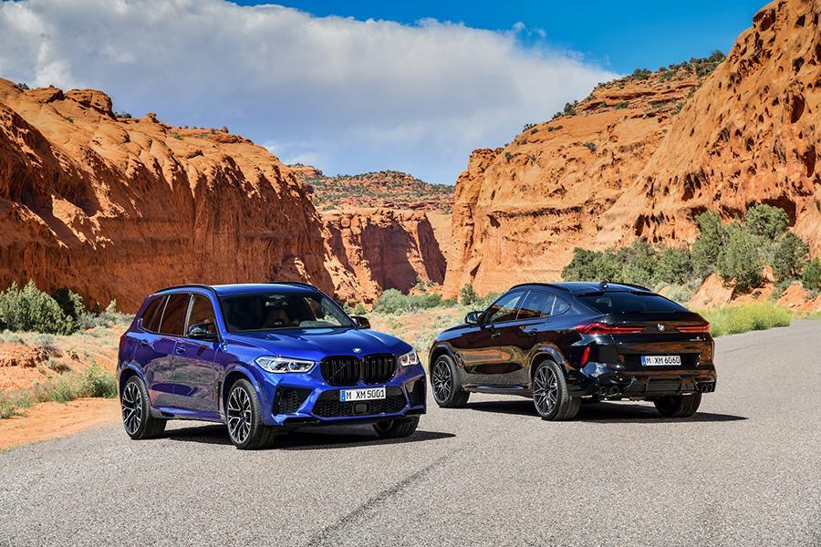 Вышли заряженные BMW X5 M и X6 M