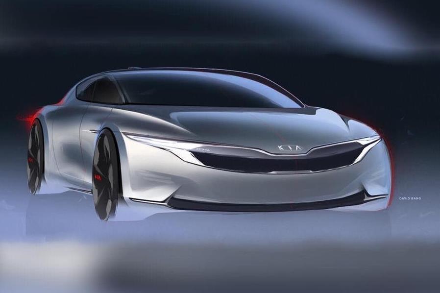 Появились первые сведения о новой Kia Optima
