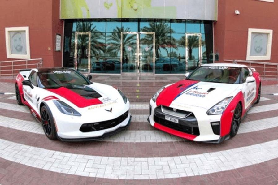 Скорая помощь в Дубае получила два суперкара