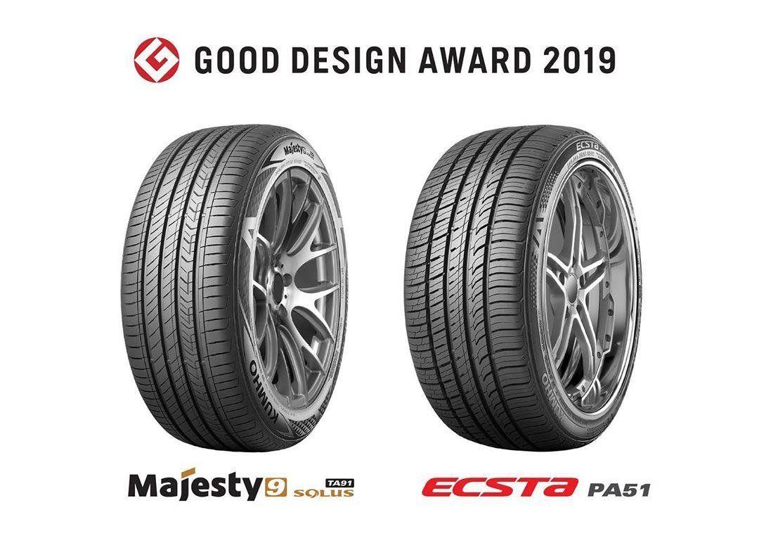 Две модели шин Kumho Tyre отмечены японской премией Good Design Award 2019