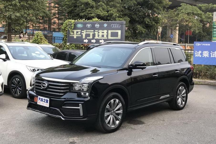 GAC GS8 обновился в Китае