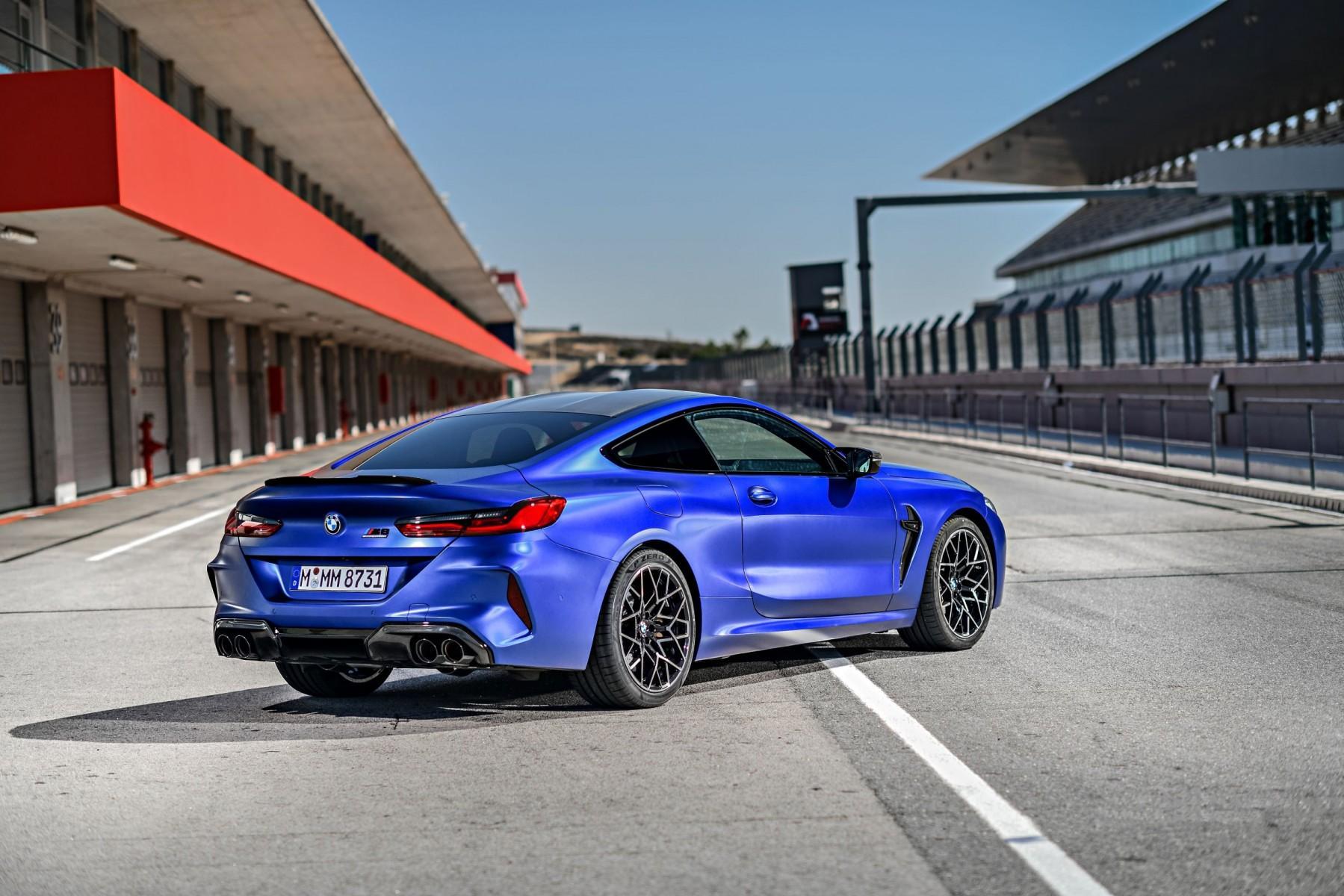 Pirelli разработала спецверсию шин P Zero для заводской комплектации новых BMW M8