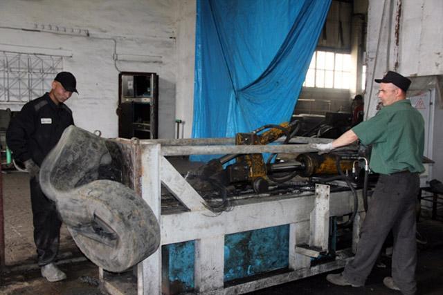 ФСИН России развивает переработку шин в своих исправительных учреждениях