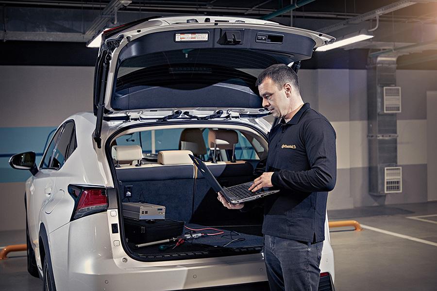 Continental внедряет инновационные методы дистанционного тестирования зимних шин