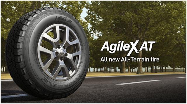 Triangle начала поставки в Европу новых вседорожных шин AgileX AT TR292