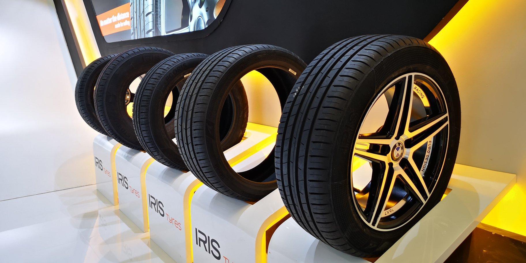 Алжирская Saterex начала экспорт шин бренда Iris в Испанию