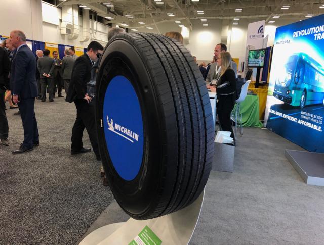 Новая Michelin X-Incity Energy Z - ответ французских шинников на запросы производителей электробусов