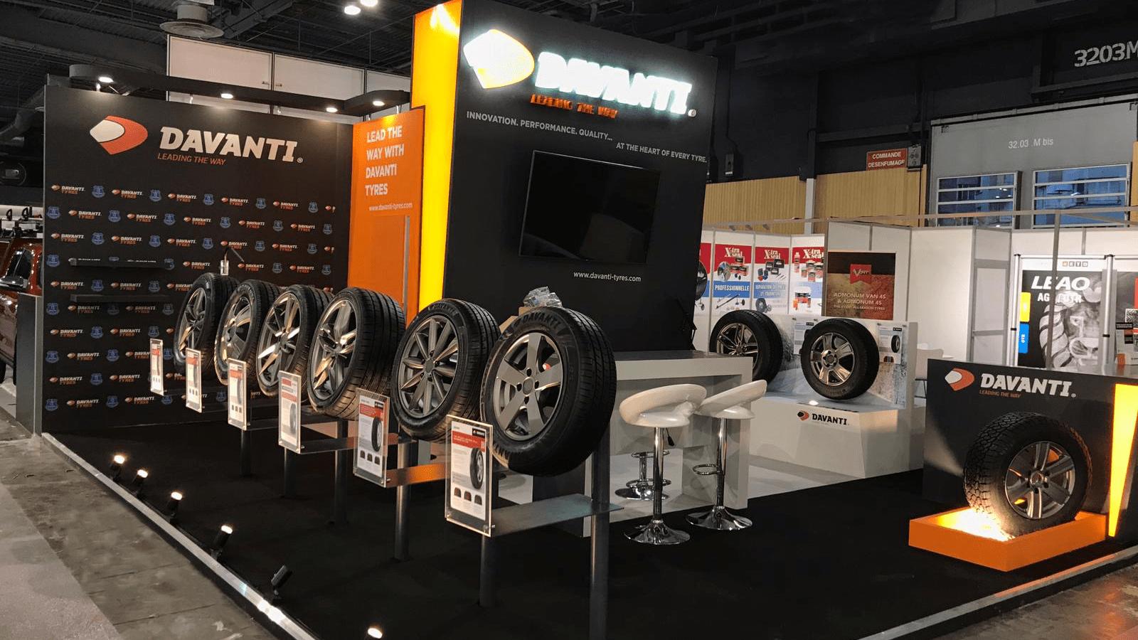 Davanti Tyres дебютировала на выставке в Париже