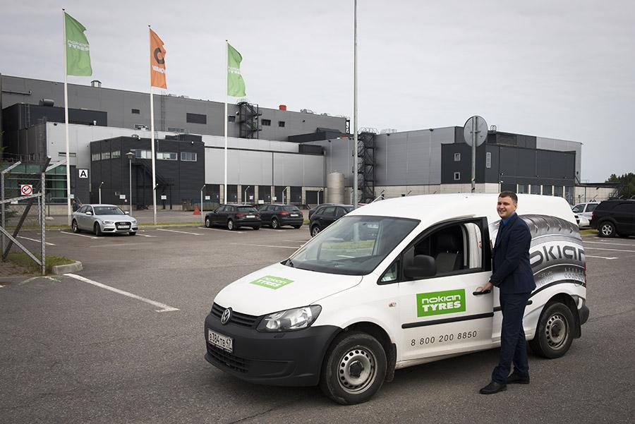 Nokian Tyres наращивает объемы продаж в России