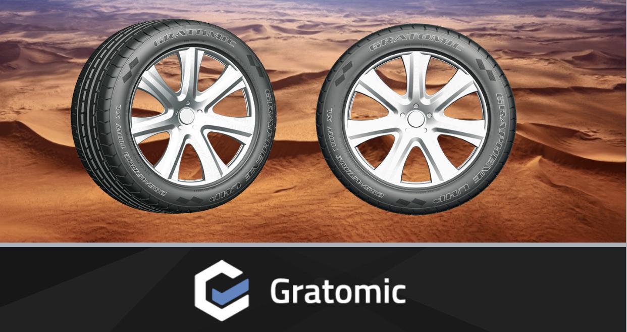 Графеновые покрышки превзошли премиум-шины по всем эксплуатационным характеристикам