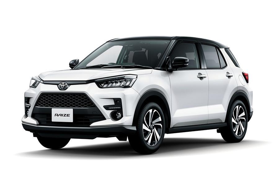 Toyota рассекретила компактный кроссовер Raize