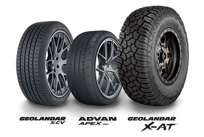 Yokohama Tire собирает коллекцию наград на выставке в Лас-Вегасе