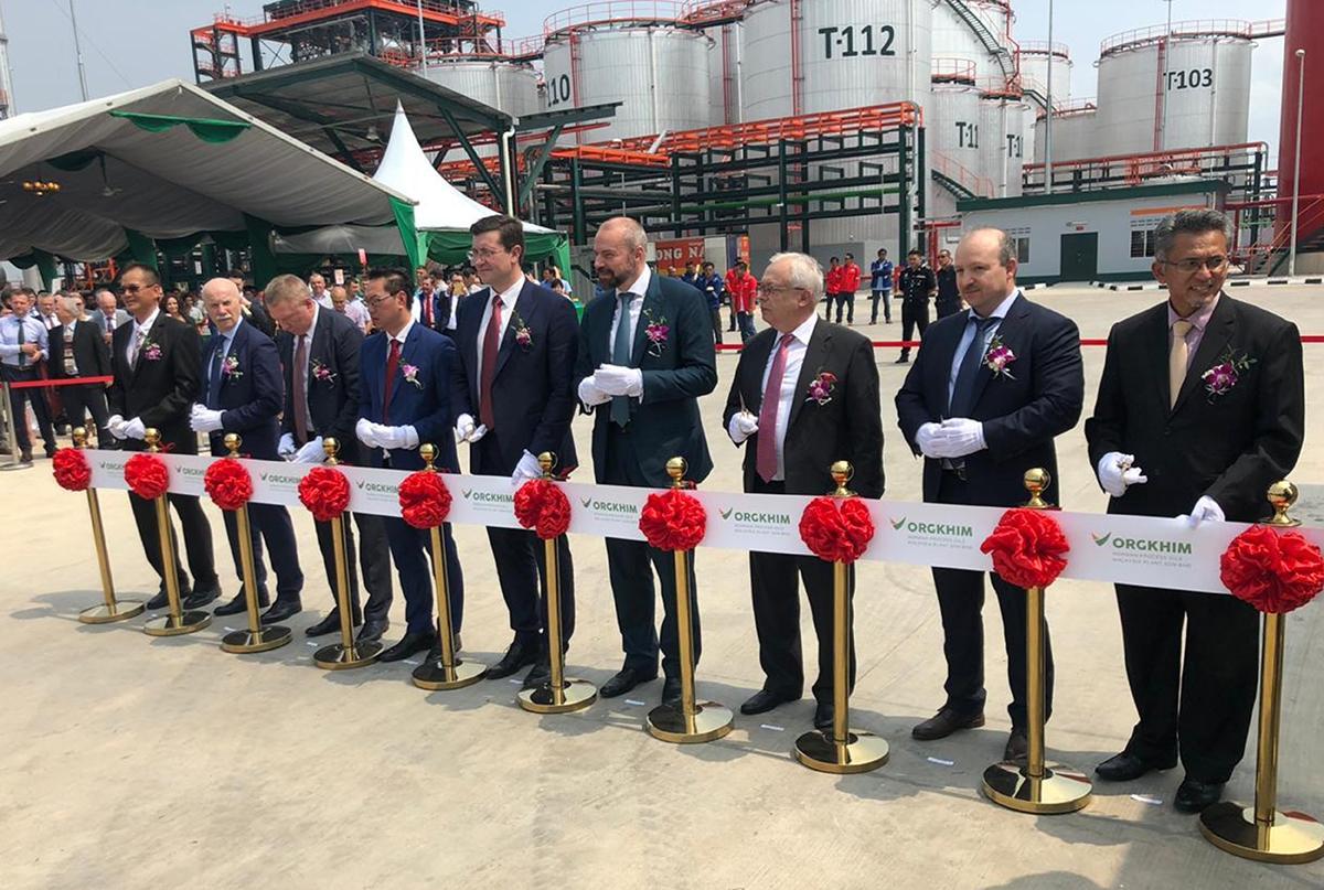 «Оргхим» открыл в Малайзии завод масел-наполнителей для «зеленых» шин