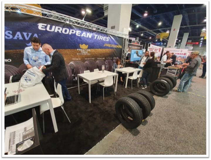 На выставке SEMA представили украинские шины торговой марки Premiorri