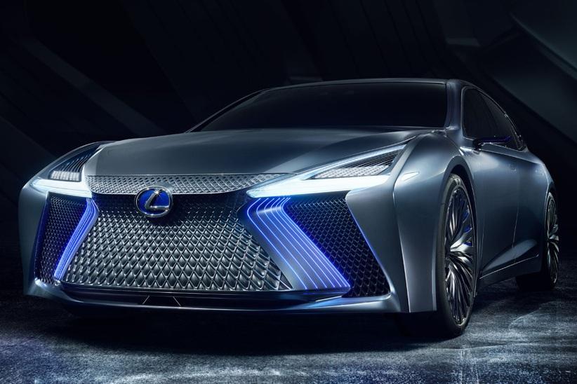 Серийный электрический Lexus покажут в Гуанчжоу