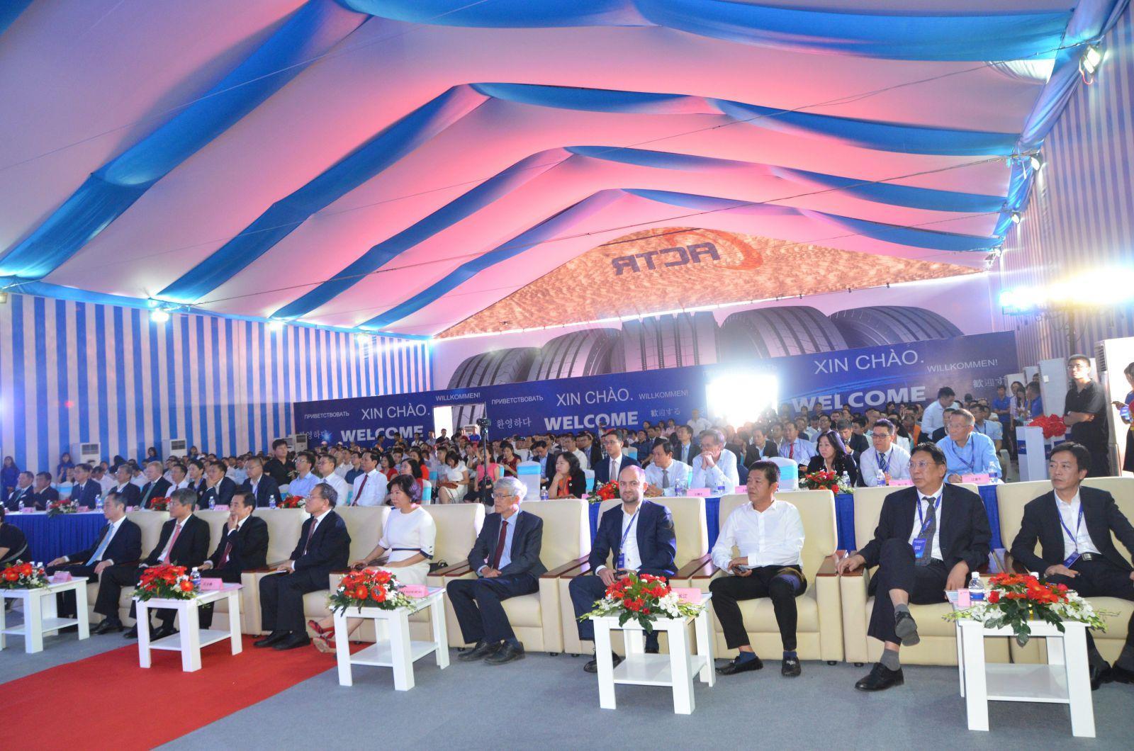 Совместное предприятие Cooper и Sailun во Вьетнаме выпустило первую шину