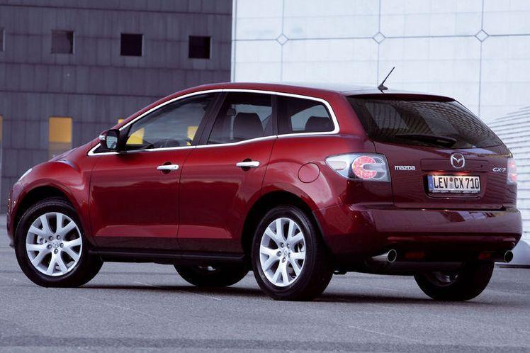Mazda отзывает CX-7 из-за задних фонарей