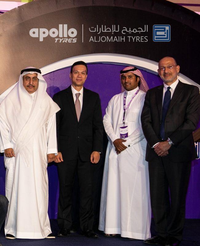 Apollo Tyres начинает экспансию на рынке Саудовской Аравии