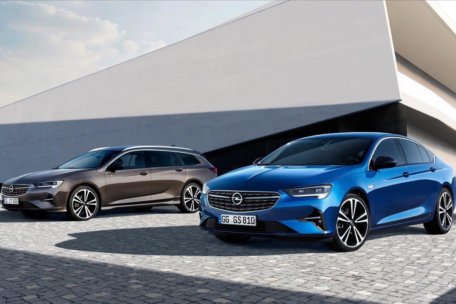 Opel Insignia обзавелся матричными фарами