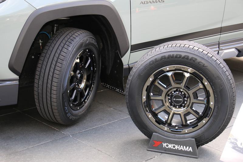 Yokohama представила новую шину Geolandar CV G058 для городских кроссоверов
