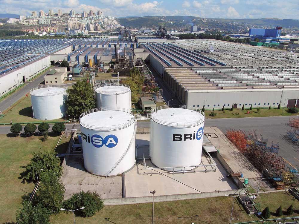 Завод Brisa в Измите «уйдет» на новогодние каникулы