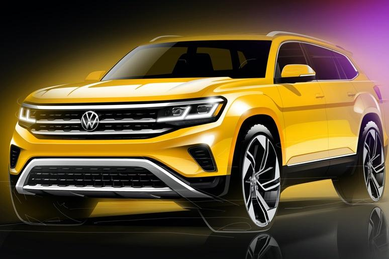 Volkswagen готовится обновить Atlas/Teramont