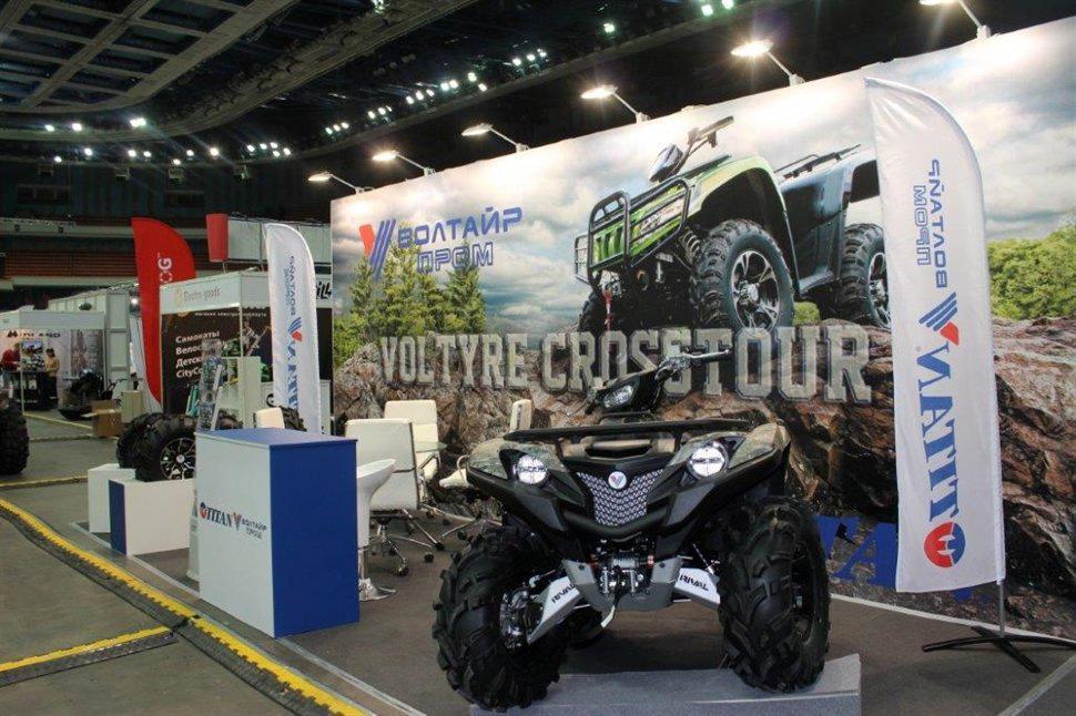 «Волтайр-Пром» развивает линейки ATV-шин Titan и Voltyre Crosstour