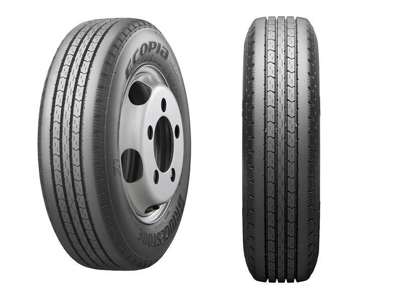 Bridgestone представила новые топливосберегающие шины Ecopia R214 для малотоннажных грузовиков