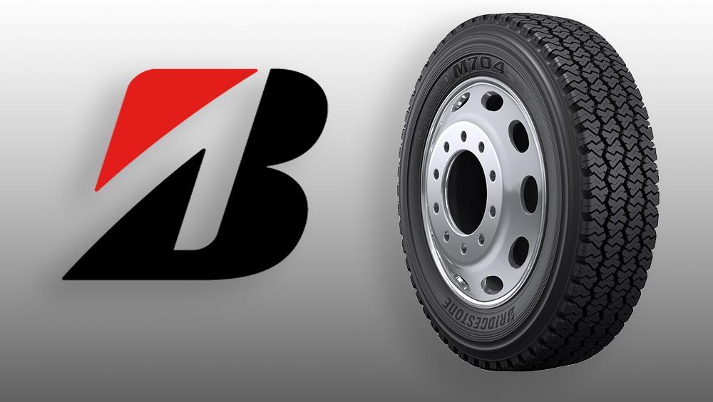 Bridgestone представила новую грузовую шину M704 для региональных служб доставки