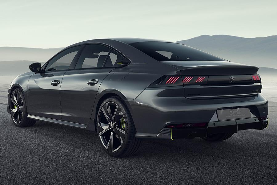 Peugeot запустит в серию заряженный 508-й