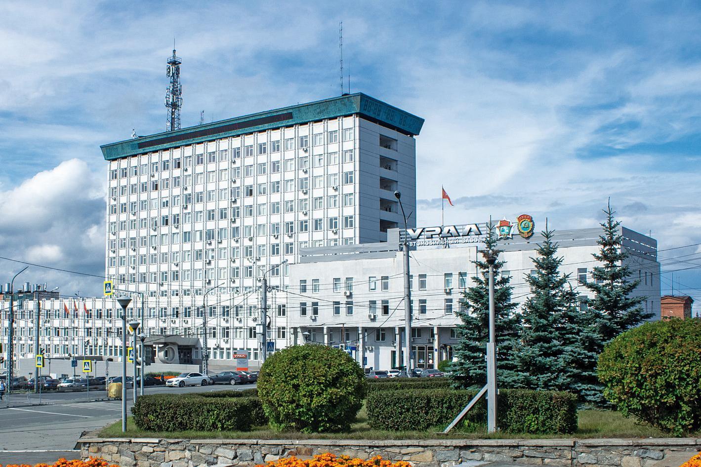 Автозавод «Урал» поблагодарил шинников Нижнекамска за сотрудничество