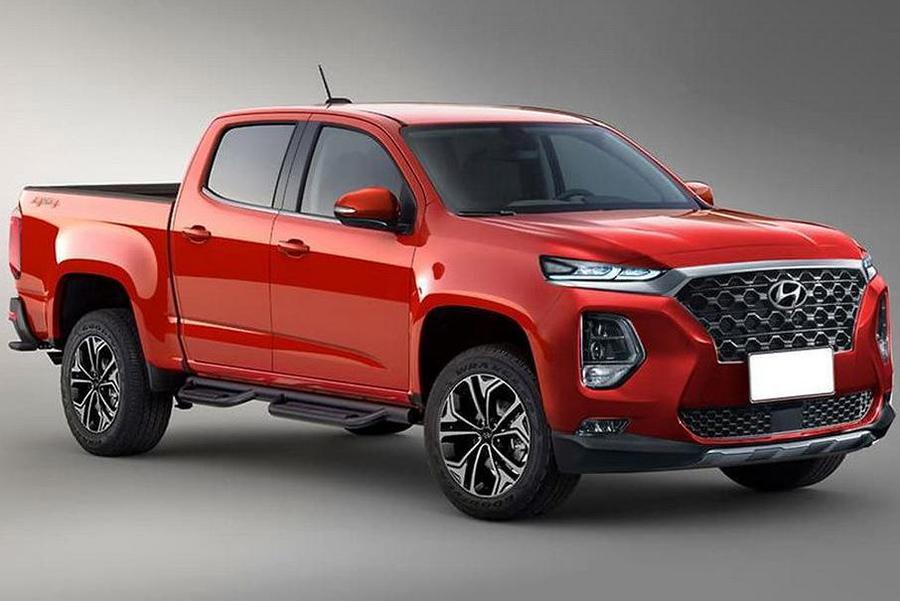 Пикап Hyundai может получить рядную дизельную «шестерку»
