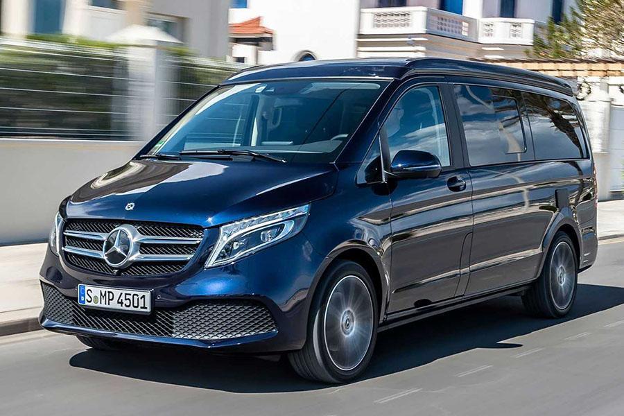 Mercedes V-Class отзывают из-за опасных подушек безопасности